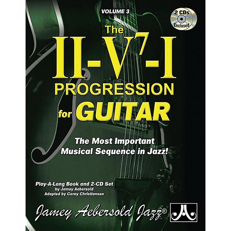 Jamey AebersoldJamey Aebersold Jazz, Volume 3: The ii-V7-I Progression for Guitar Book & 2 CDs
