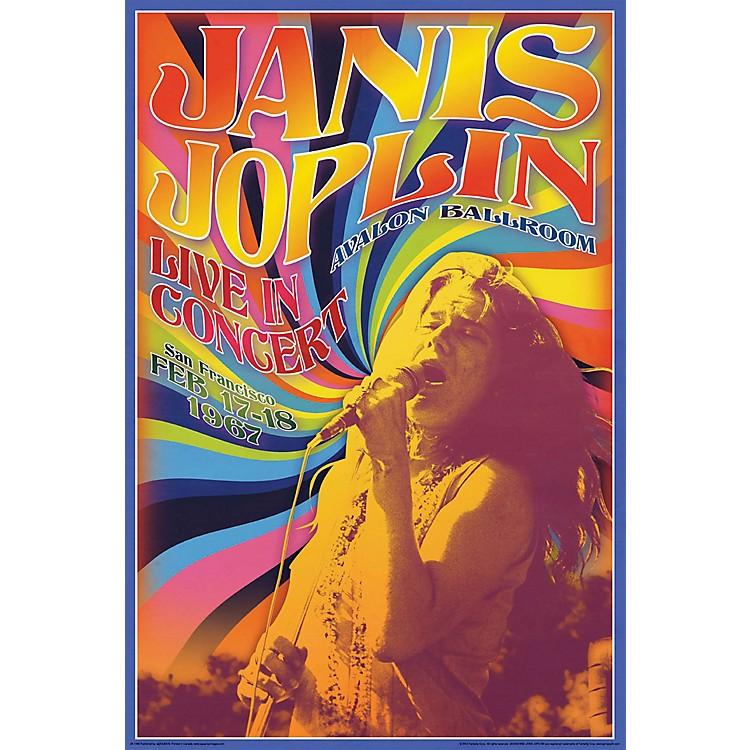 Hal LeonardJanis Joplin Concert - Wall Poster