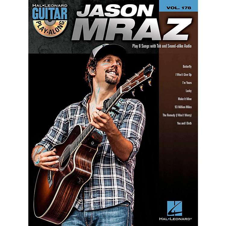 Hal LeonardJason Mraz - Guitar Play-Along Volume 178 (Book/CD)