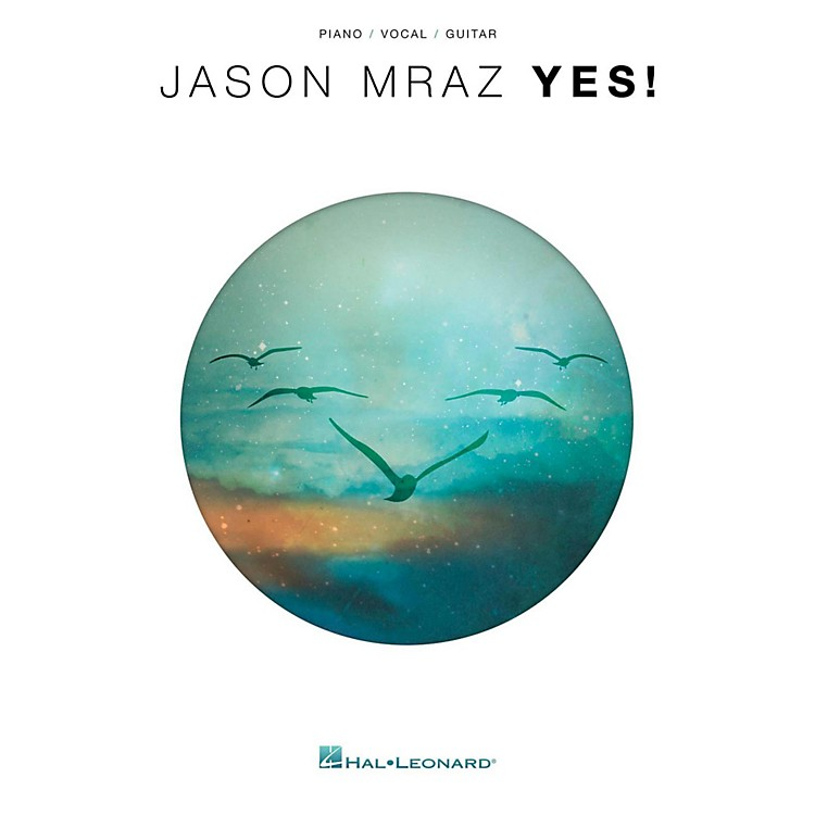 Hal Leonard Jason Mraz - Yes for Piano/Vocal/Guitar