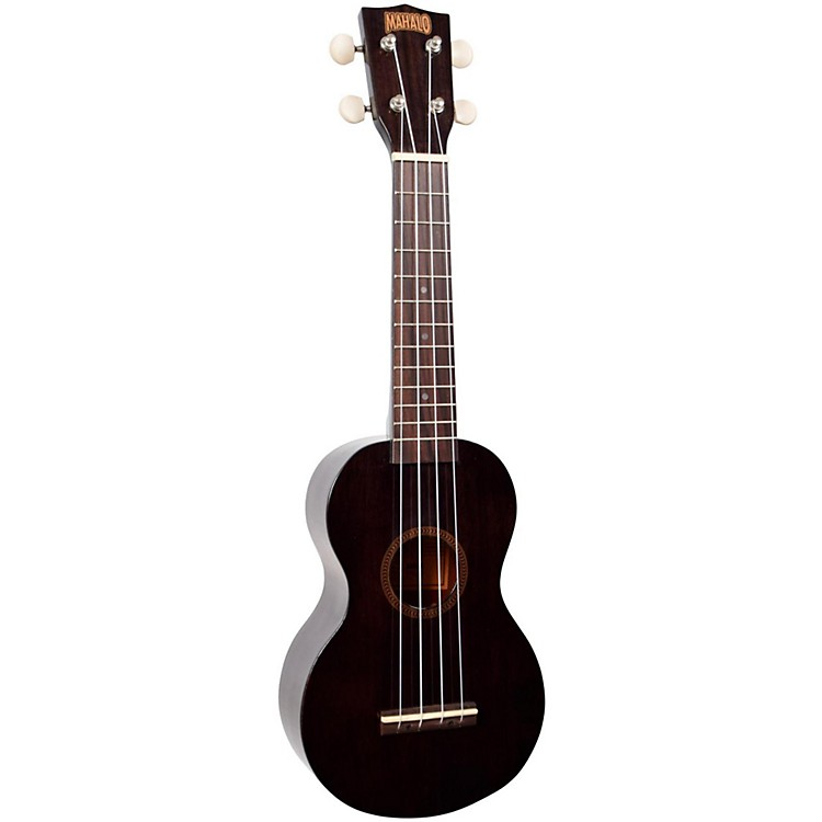 Mahalo Java Series MJ1TBK-U Soprano Ukulele Transparent Black