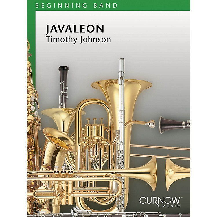 Curnow MusicJavaleon (Grade 1.5 - Score Only) Concert Band Level 1.5 Composed by Timothy Johnson