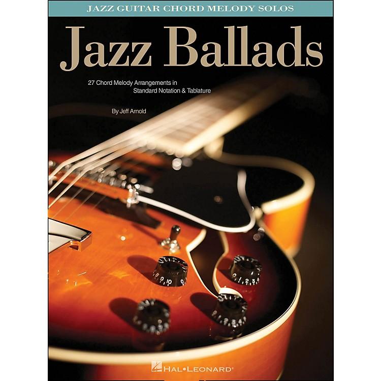 Hal Leonard Jazz Ballads Jazz Guitar Chord Melody Solos Music123