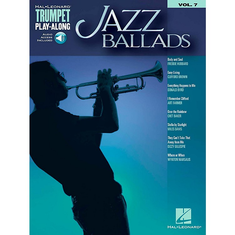 Hal LeonardJazz Ballads - Trumpet Play-Along Vol. 7 Book/Audio Online