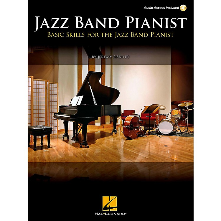 Berklee Press Jazz Band Pianist - Basic Skills For The Jazz Band Pianist Book/Online Audio