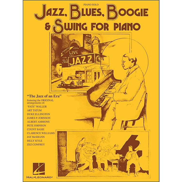 Hal LeonardJazz, Blues, Boogie & Swing for Piano Solo
