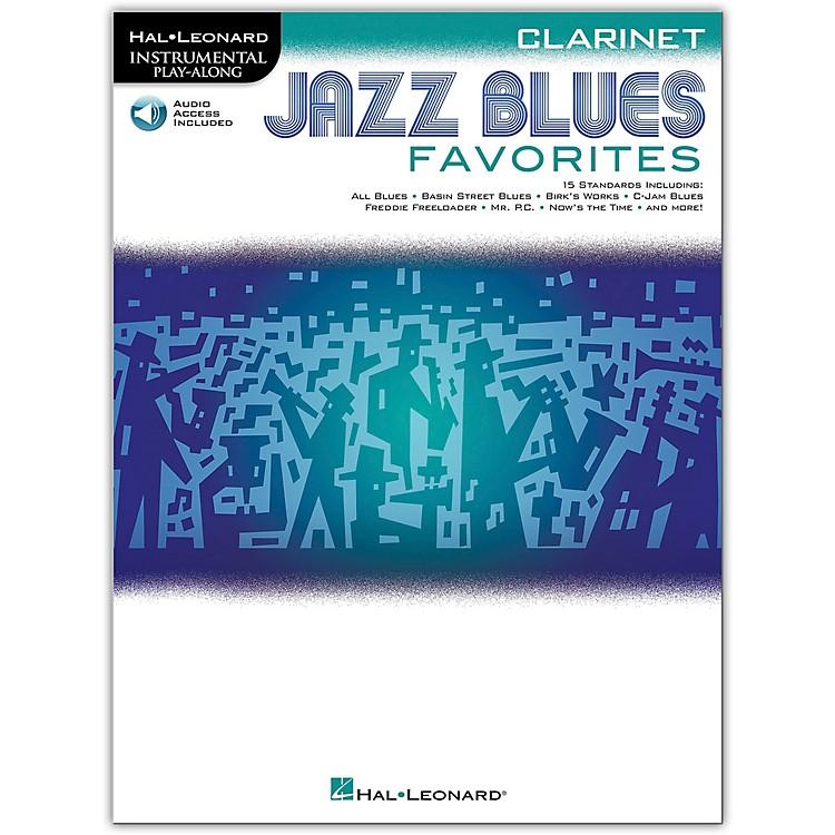 Hal LeonardJazz Blues Favorites (Clarinet) Instrumental Play-Along Series Softcover Audio Online