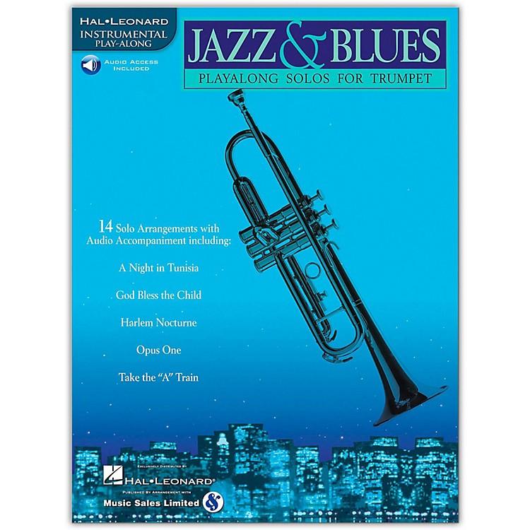 Hal LeonardJazz & Blues Playalong Solos for Trumpet (Book/Online Audio)