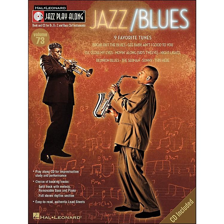 Hal LeonardJazz/Blues Volume 73 Book/CD Jazz Play Along