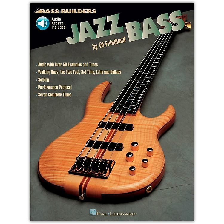 Hal LeonardJazz Builders Jazz Bass (Book/Online Audio)