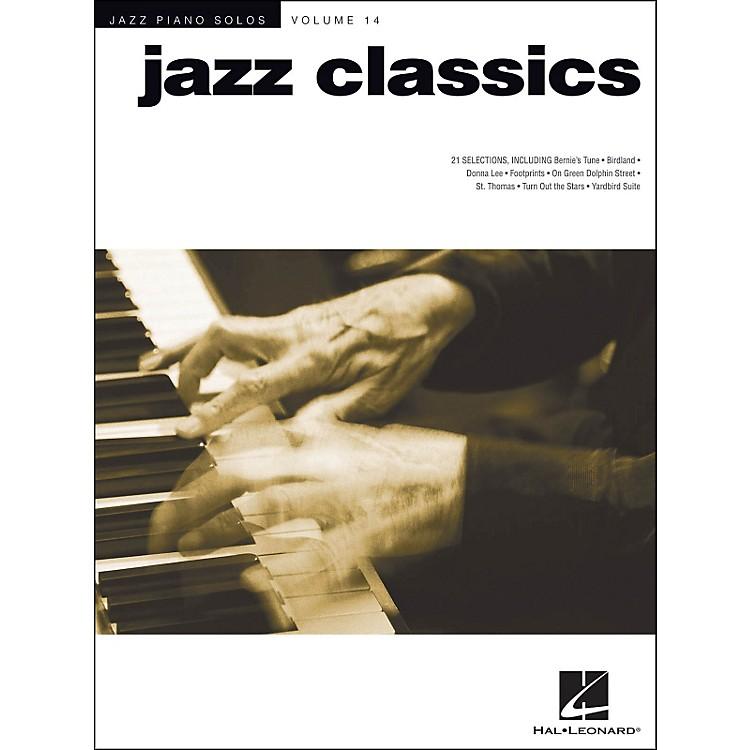 Hal LeonardJazz Classics - Jazz Piano Solos Series Volume 14