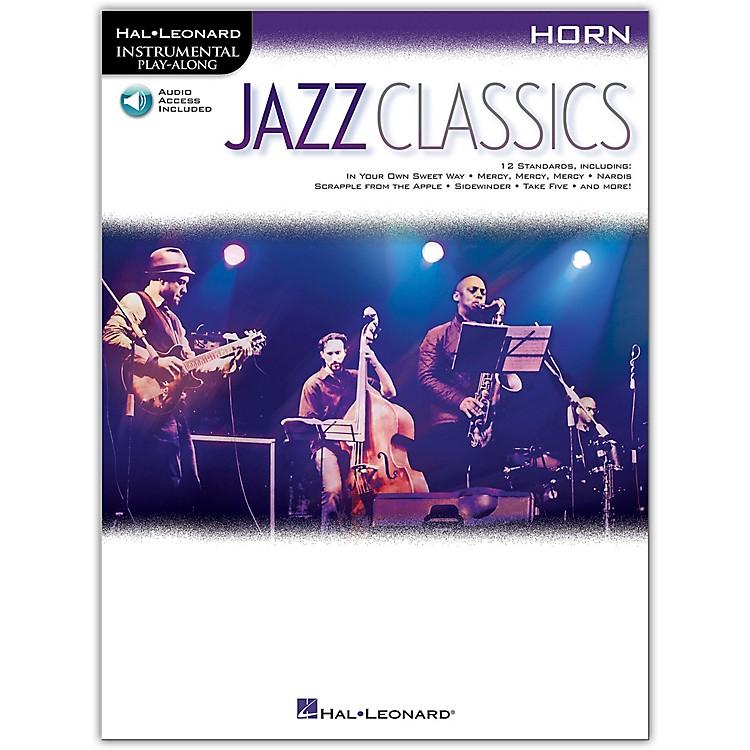 Hal LeonardJazz Classics For Horn Instrumental Play-Along Book/Audio Online