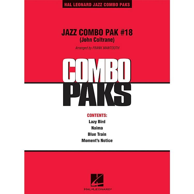 Hal LeonardJazz Combo Pak #18 (John Coltrane) Jazz Band Level 3 by John Coltrane Arranged by Frank Mantooth