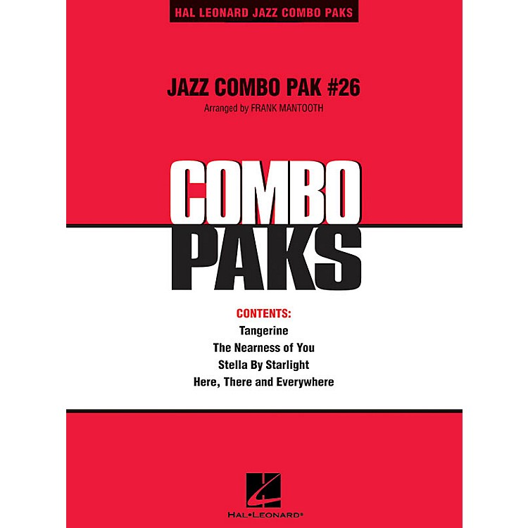 Hal Leonard Jazz Combo Pak #26 (with audio download) Jazz Band Level 3 Arranged by Frank Mantooth