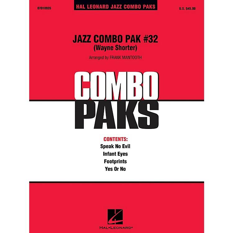 Hal LeonardJazz Combo Pak #32 - Wayne Shorter Jazz Band Level 3 by Wayne Shorter Arranged by Frank Mantooth