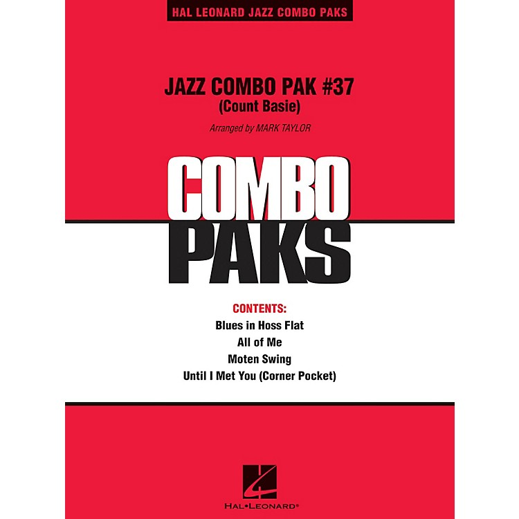Hal Leonard Jazz Combo Pak #37 (Count Basie) Jazz Band Level 3 by Count Basie Arranged by Mark Taylor