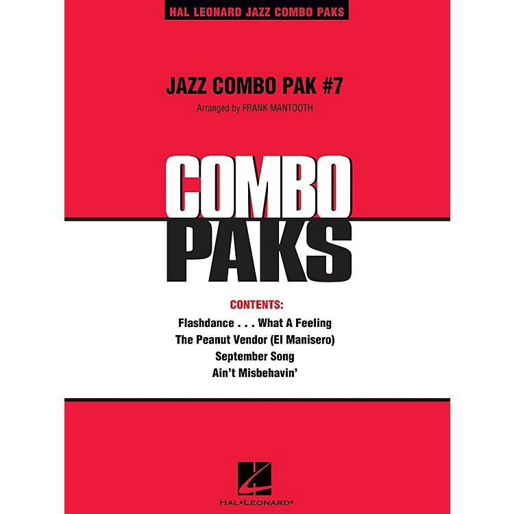Hal LeonardJazz Combo Pak #7 (with audio download) Jazz Band Level 3 Arranged by Frank Mantooth