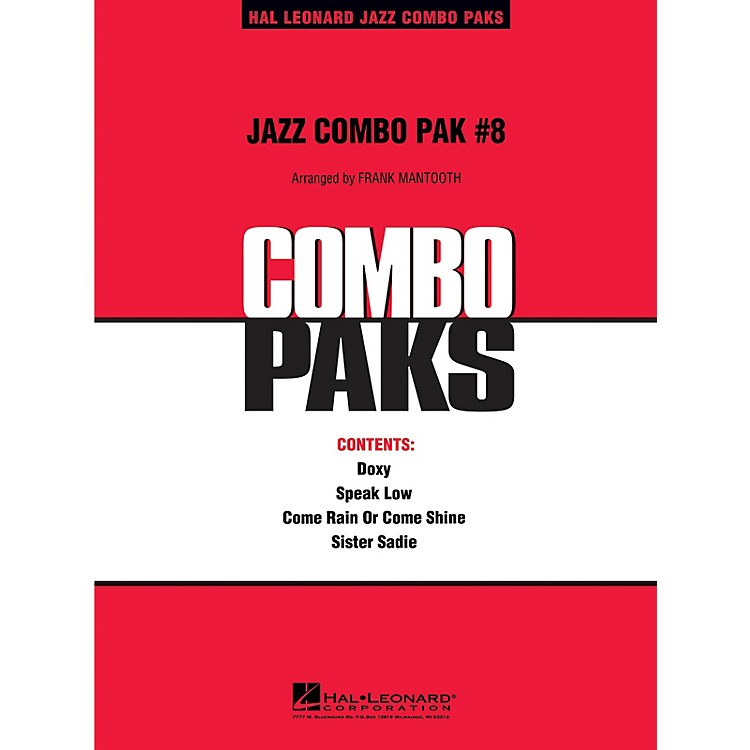 Hal Leonard Jazz Combo Pak #8 (with audio download) Jazz Band Level 3 Arranged by Frank Mantooth