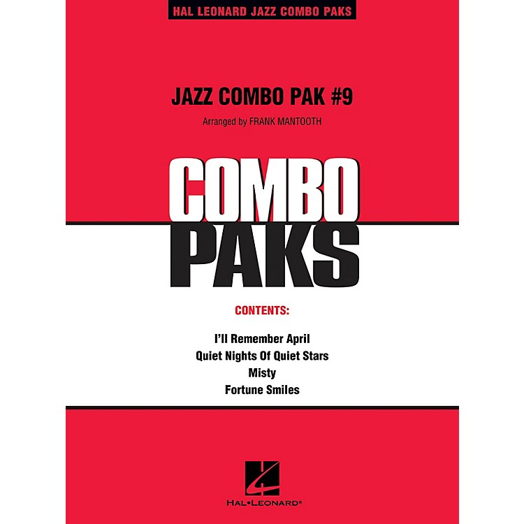 Hal Leonard Jazz Combo Pak #9 (with audio download) Jazz Band Level 3 Arranged by Frank Mantooth