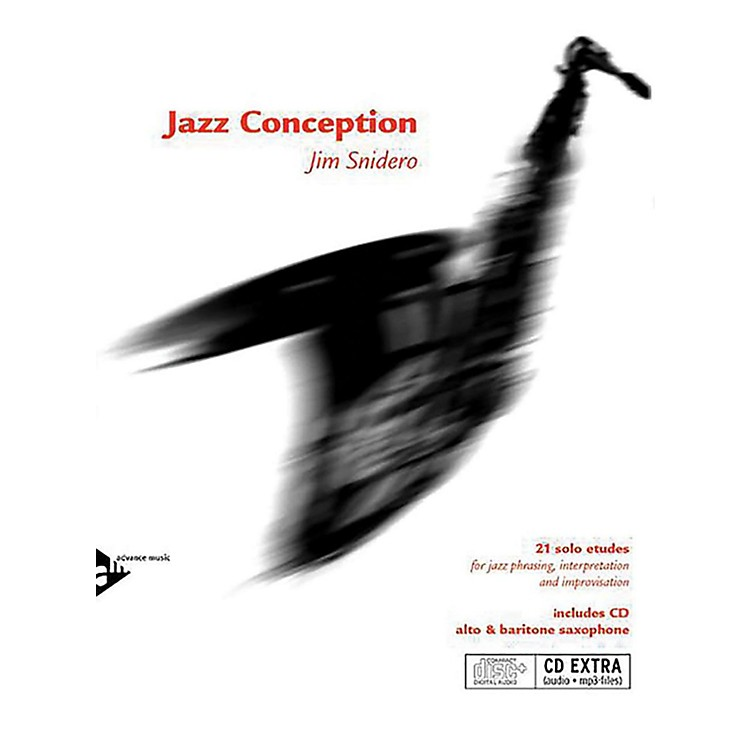 ADVANCE MUSIC Jazz Conception: Alto & Baritone Saxophone Book & MP3 CD (English/German Edition)