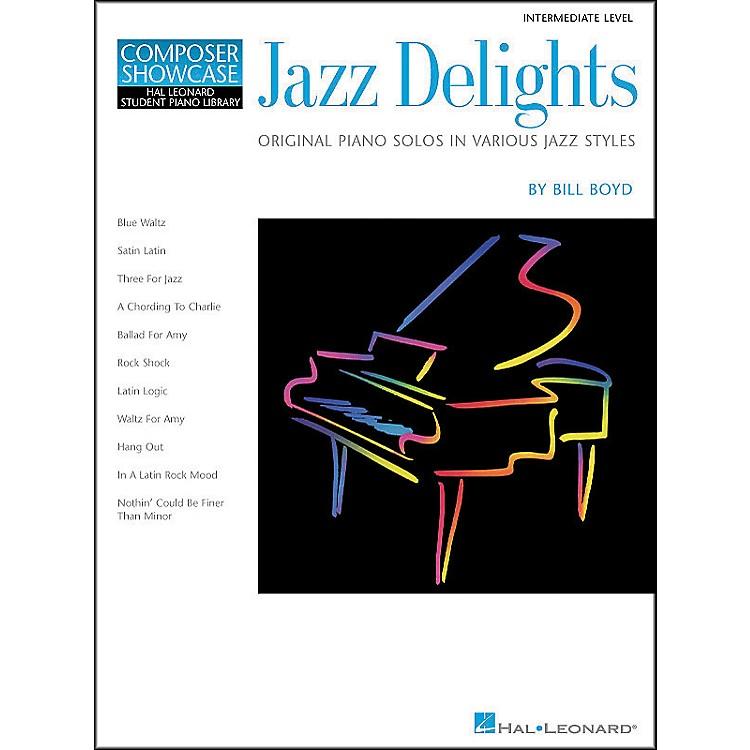 Hal LeonardJazz Delights Lower Intermediate Level Hal Leonard Student Piano Library by Bill Boyd