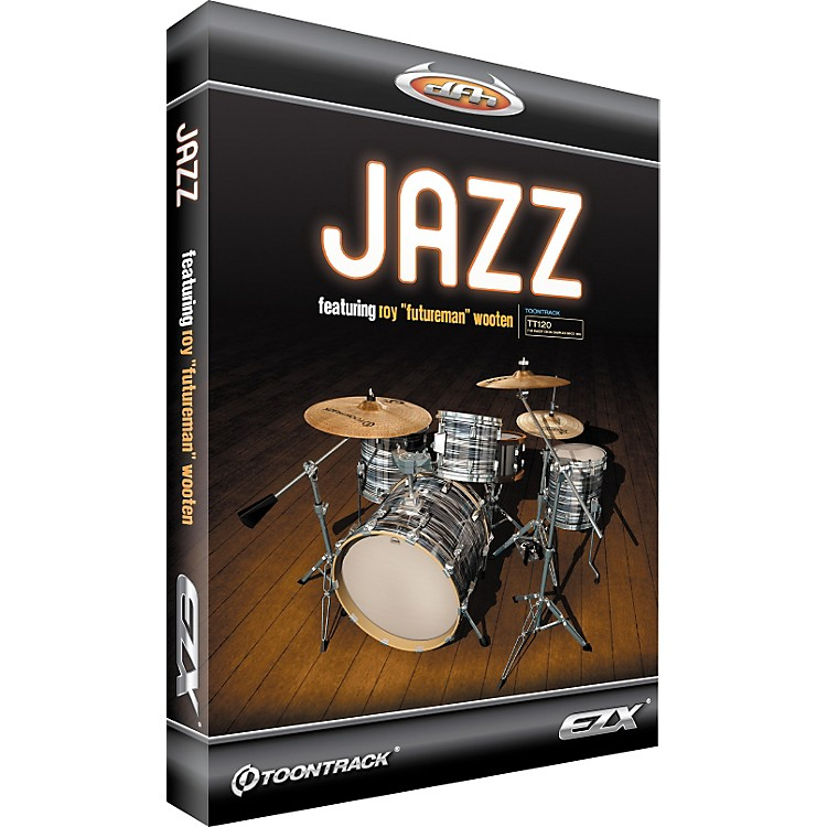 ToontrackJazz EZX Expansion Pack for EZdrummer Sample Library