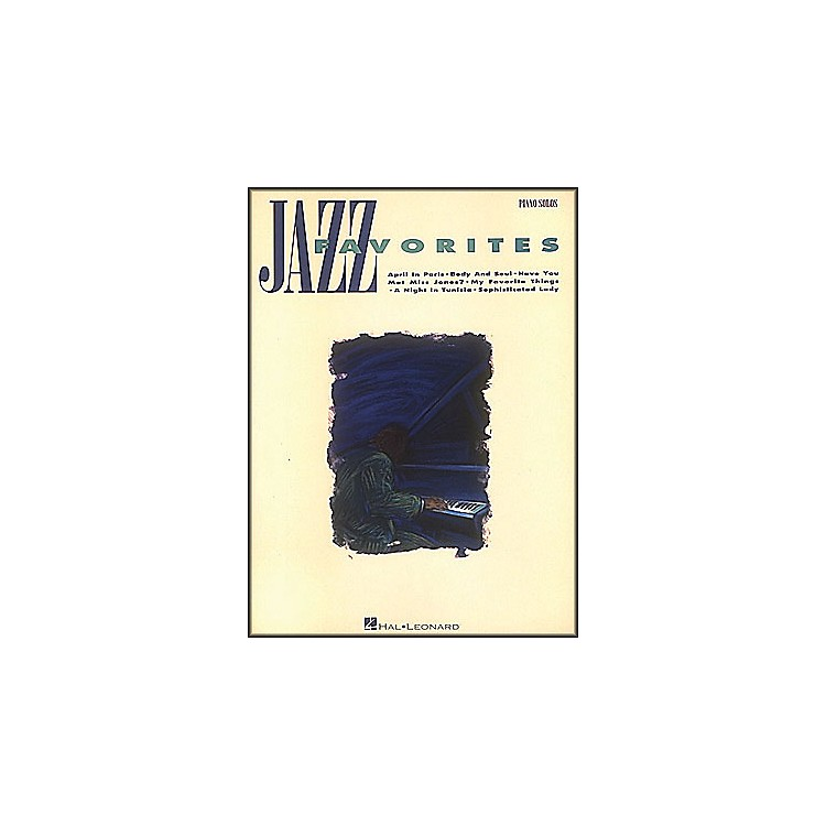 Hal LeonardJazz Favorites arranged for piano solo