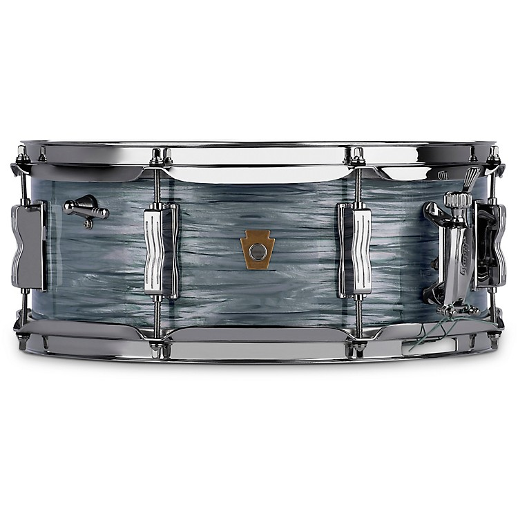 LudwigJazz Fest Snare Drum14 x 5.5 in.Vintage Black Oyster Pearl