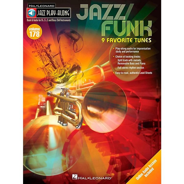 Hal LeonardJazz/Funk - Jazz Play-Along Volume 178 Book/Online Audio