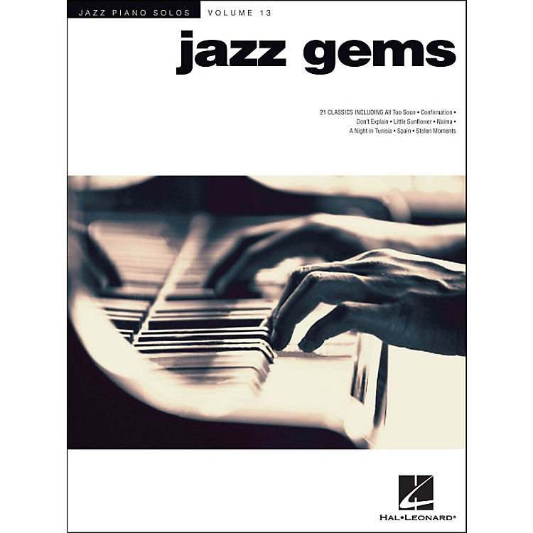 Hal Leonard Jazz Gems Jazz Piano Solos Series Volume 13