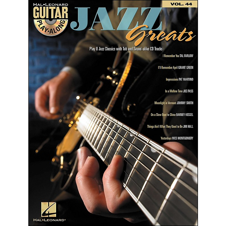 Hal Leonard Jazz Greats - Guitar Play-Along Volume 44 Book/CD