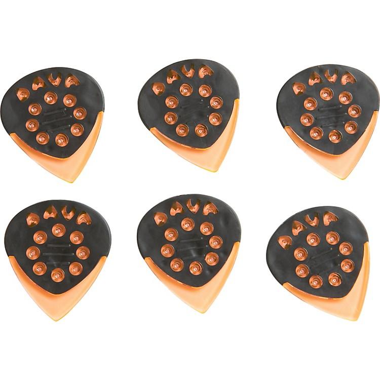 DavaJazz Grip Gels Small 6-PackClear Orange
