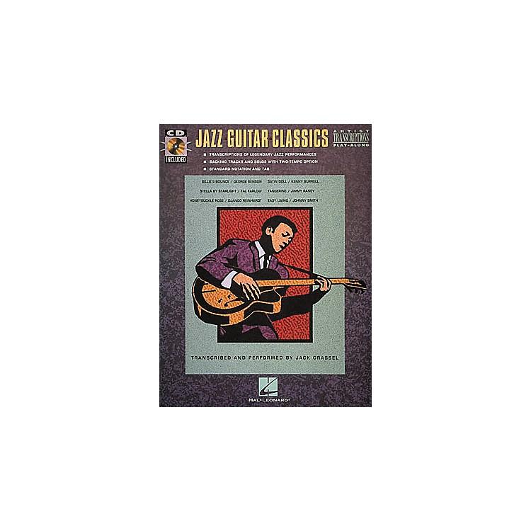 Hal LeonardJazz Guitar Classics CD & Book