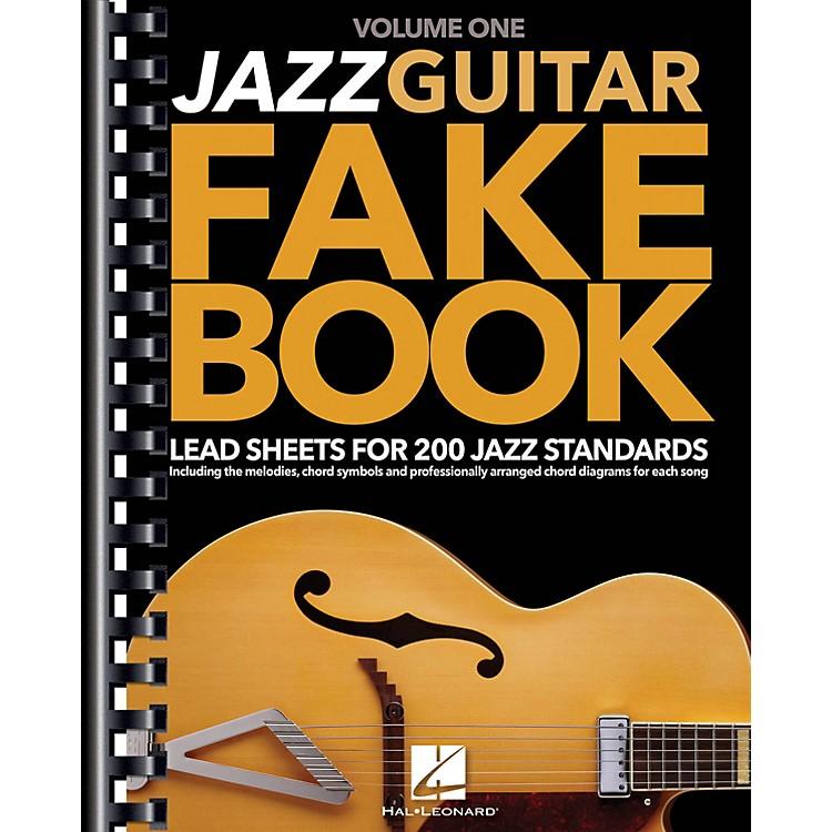 Hal LeonardJazz Guitar Fake Book - Volume 1 (Lead Sheets for 200 Jazz Standards) Guitar Book Series Softcover