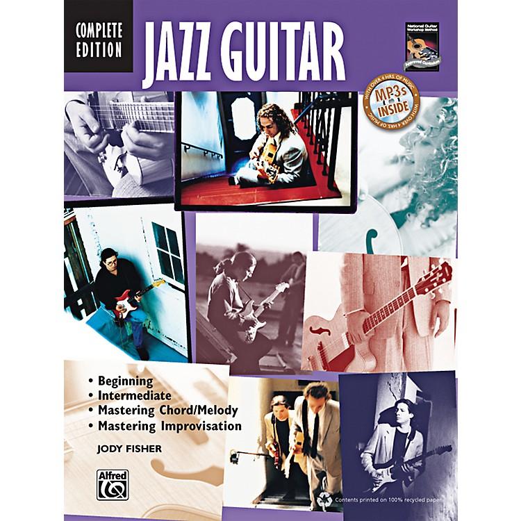 AlfredJazz Guitar Method Complete Book & CD