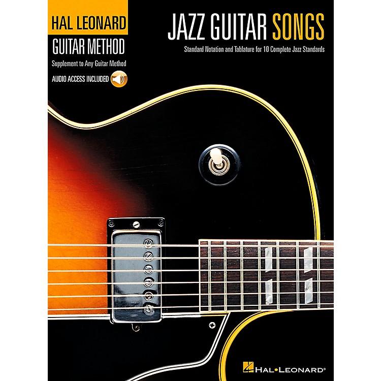 Hal LeonardJazz Guitar Songs Hal Leonard Guitar Method Supplement Book/CD