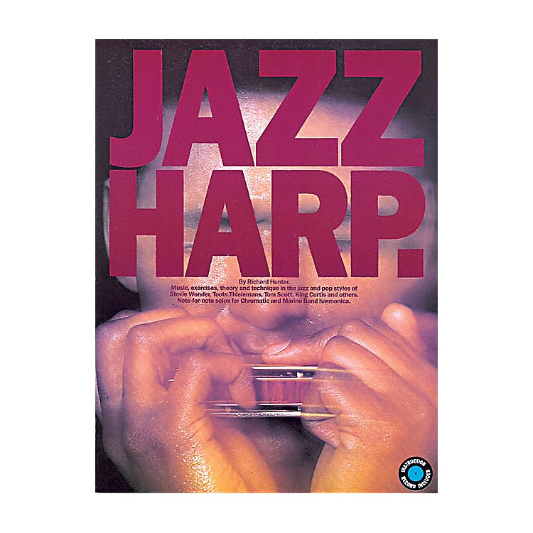 Music SalesJazz Harp Music Sales America Series Softcover with CD Written by Richard Hunter