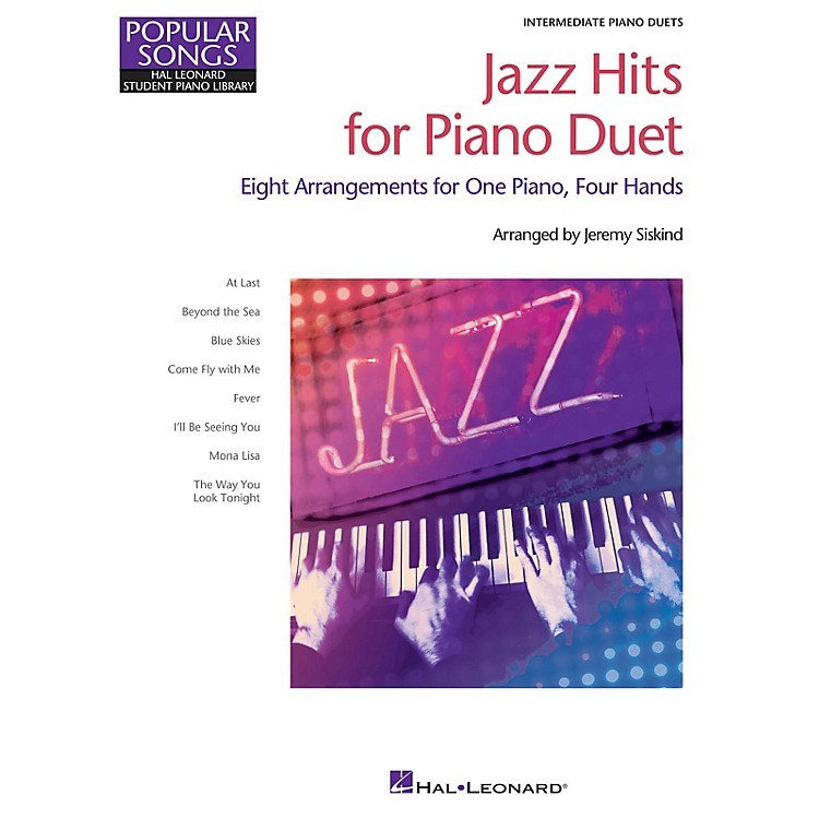 Hal LeonardJazz Hits for Piano Duet Piano Library Series Book by Various (Level Inter)