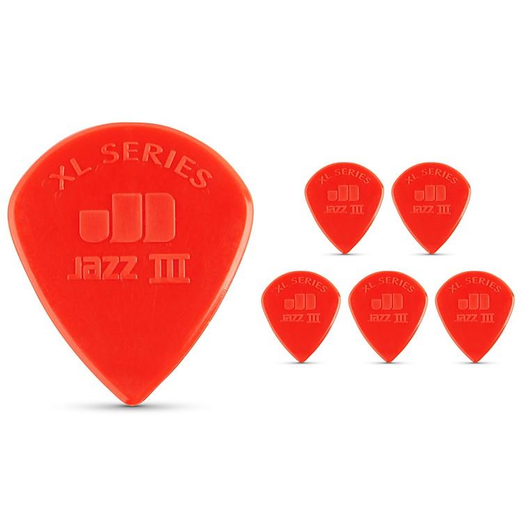 DunlopJazz III XL Guitar Picks 6-Pack