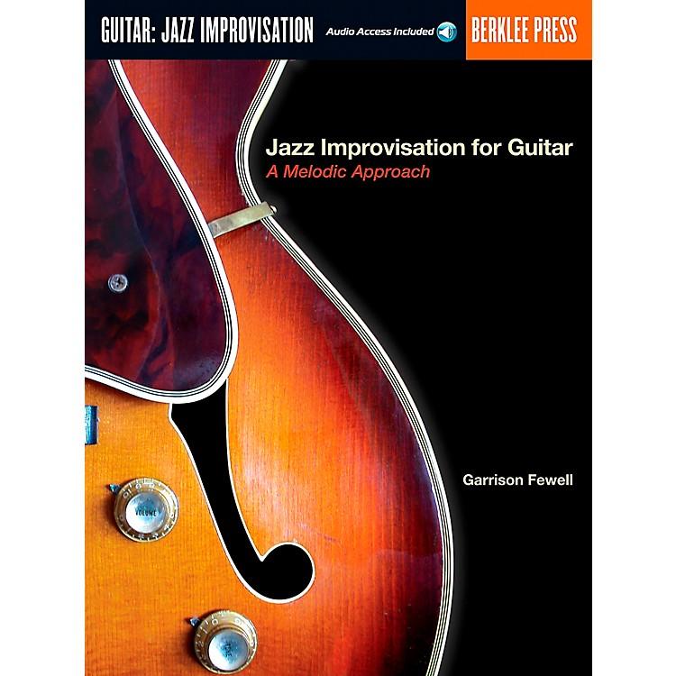Berklee PressJazz Improvisation for Guitar Book/CD
