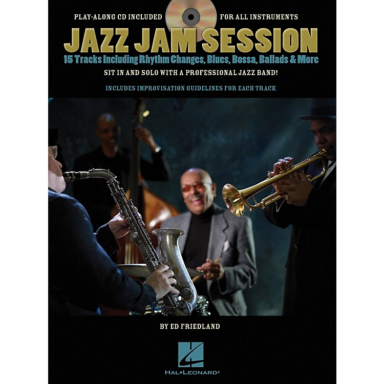 Hal Leonard Jazz Jam Session Jam Trax Series Softcover with CD Written by Ed Friedland