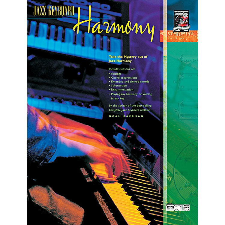 AlfredJazz Keyboard Harmony Book & CD
