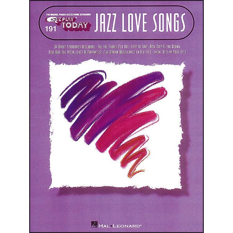 Hal LeonardJazz Love Songs E-Z Play 191