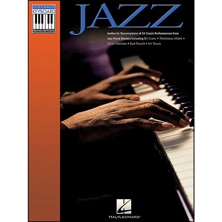 Hal LeonardJazz Note-for-Note Keyboard Transcriptions