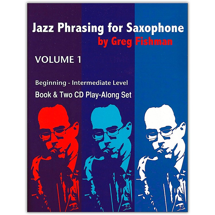 Jamey Aebersold Jazz Phrasing For Saxophone Book and CDs