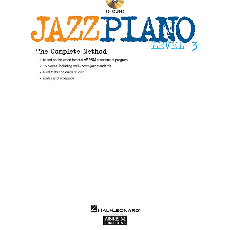 ABRSMJazz Piano - Level 3 (Level 3) Instructional Series Softcover with CD Written by Various Authors