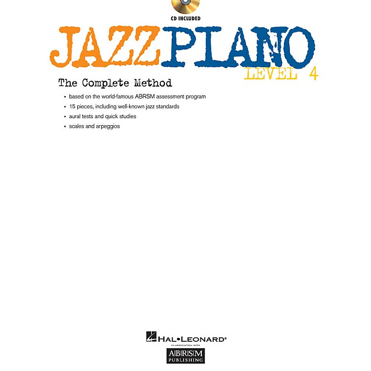 ABRSMJazz Piano - Level 4 (Level 4) Instructional Series Softcover with CD Written by Various Authors