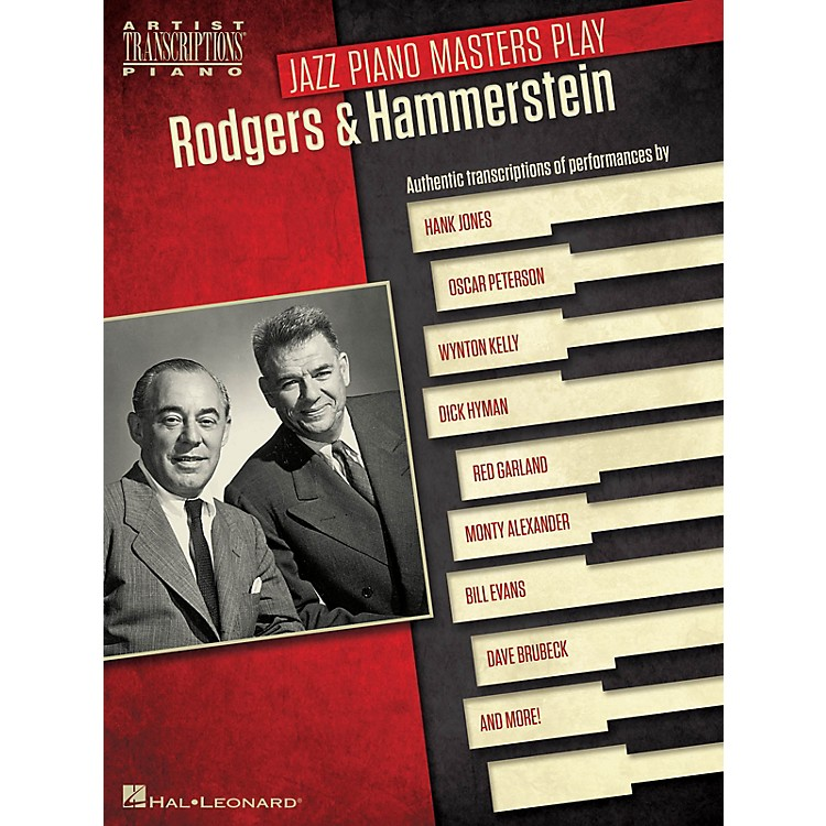 Hal Leonard Jazz Piano Masters Play Rodgers & Hammerstein Artist Transcriptions Series Softcover