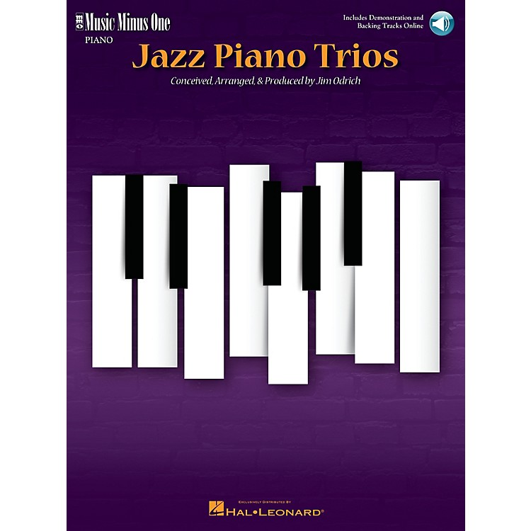 Music Minus OneJazz Piano Trios (Deluxe 2-CD Set) Music Minus One Series Softcover with CD
