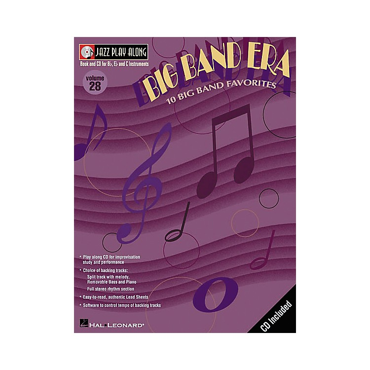 Hal LeonardJazz Play-Along Series Big Band Era Book with CD